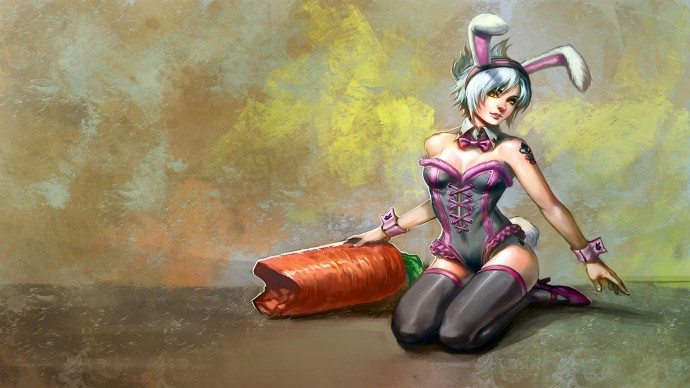 Bunny Girl Riven Fanart