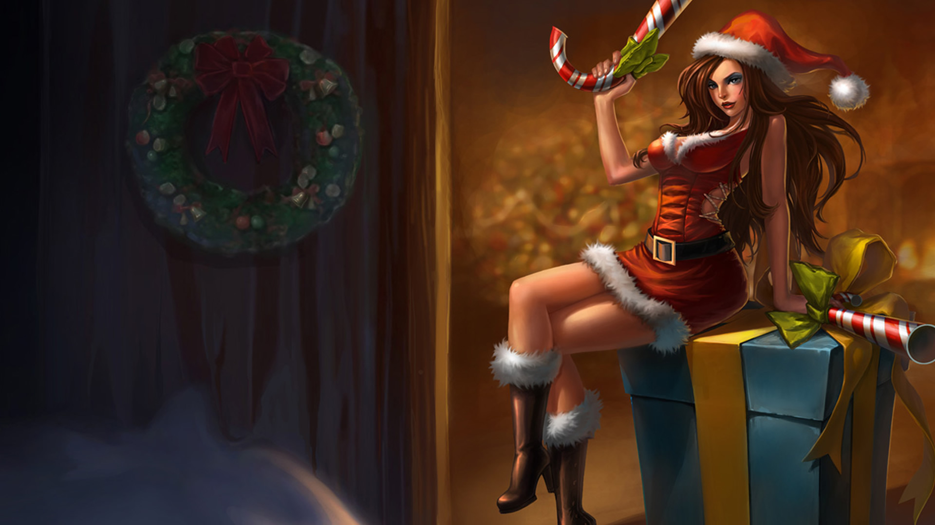 candy cane miss fortune chinese wallpaper leaguesplash