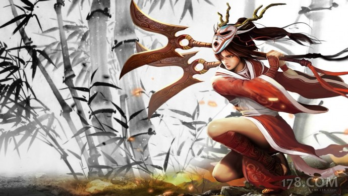 Blood Moon Akali Chinese