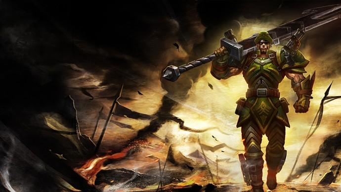 Commando Jarvan Chinese