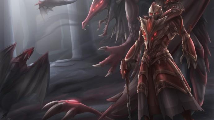 Dragon Master Swain Fanart