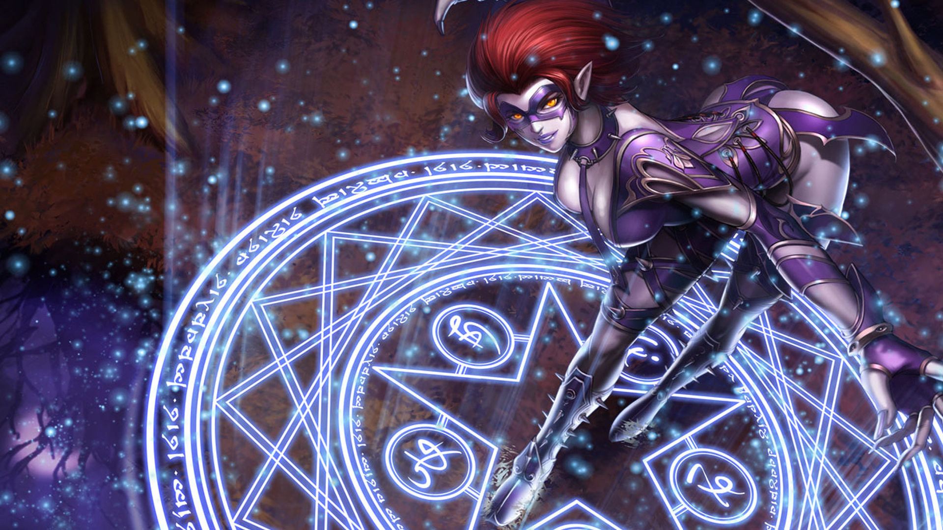 Masquerade Evelynn Chinese Wallpaper - LeagueSplash