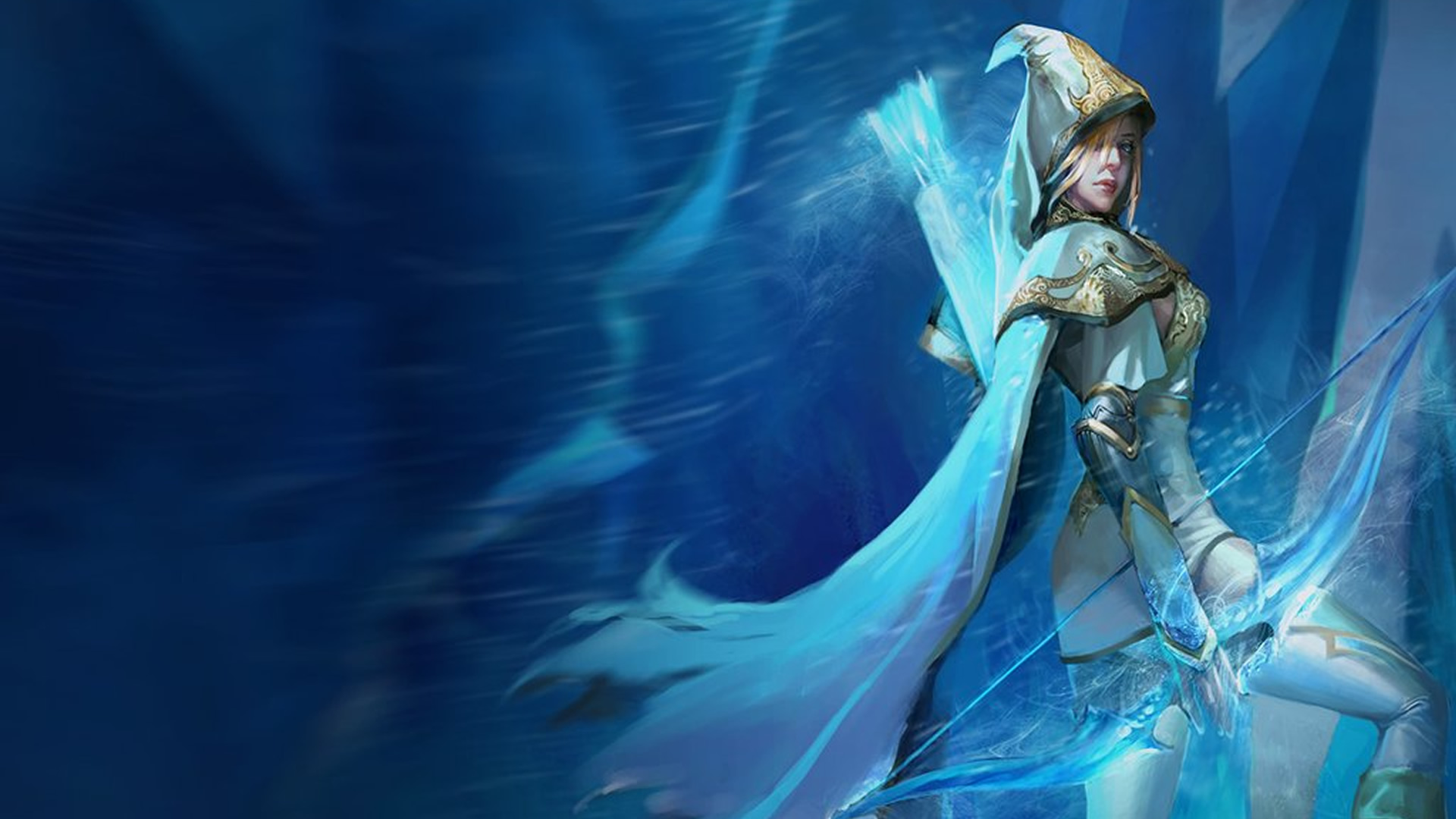Championship Ashe Animation Wallpaper  League of Lgends