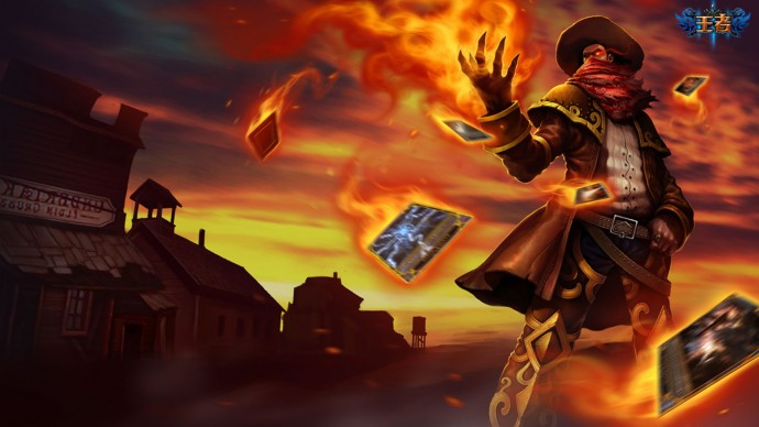 High Noon Twisted Fate Chinese