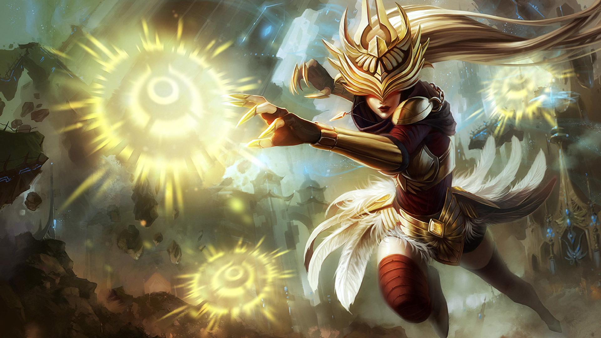 Justicar Syndra Wallpaper - LeagueSplash
