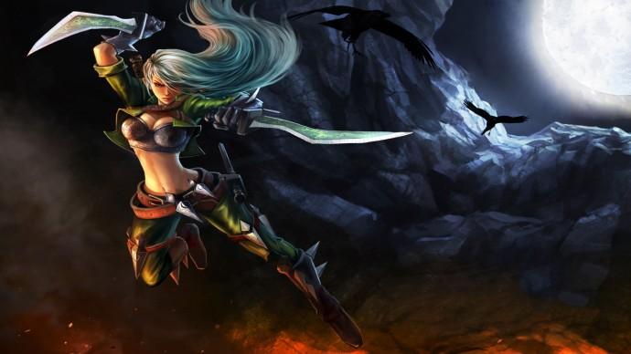 Mercenary Katarina Chinese