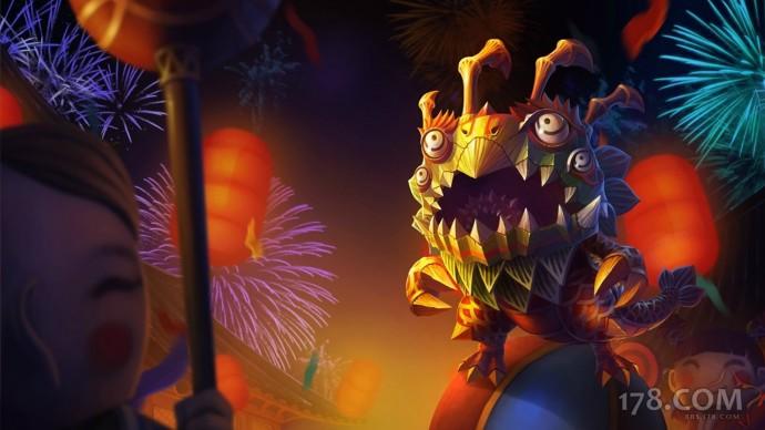 Lion Dance Kog'Maw Chinese