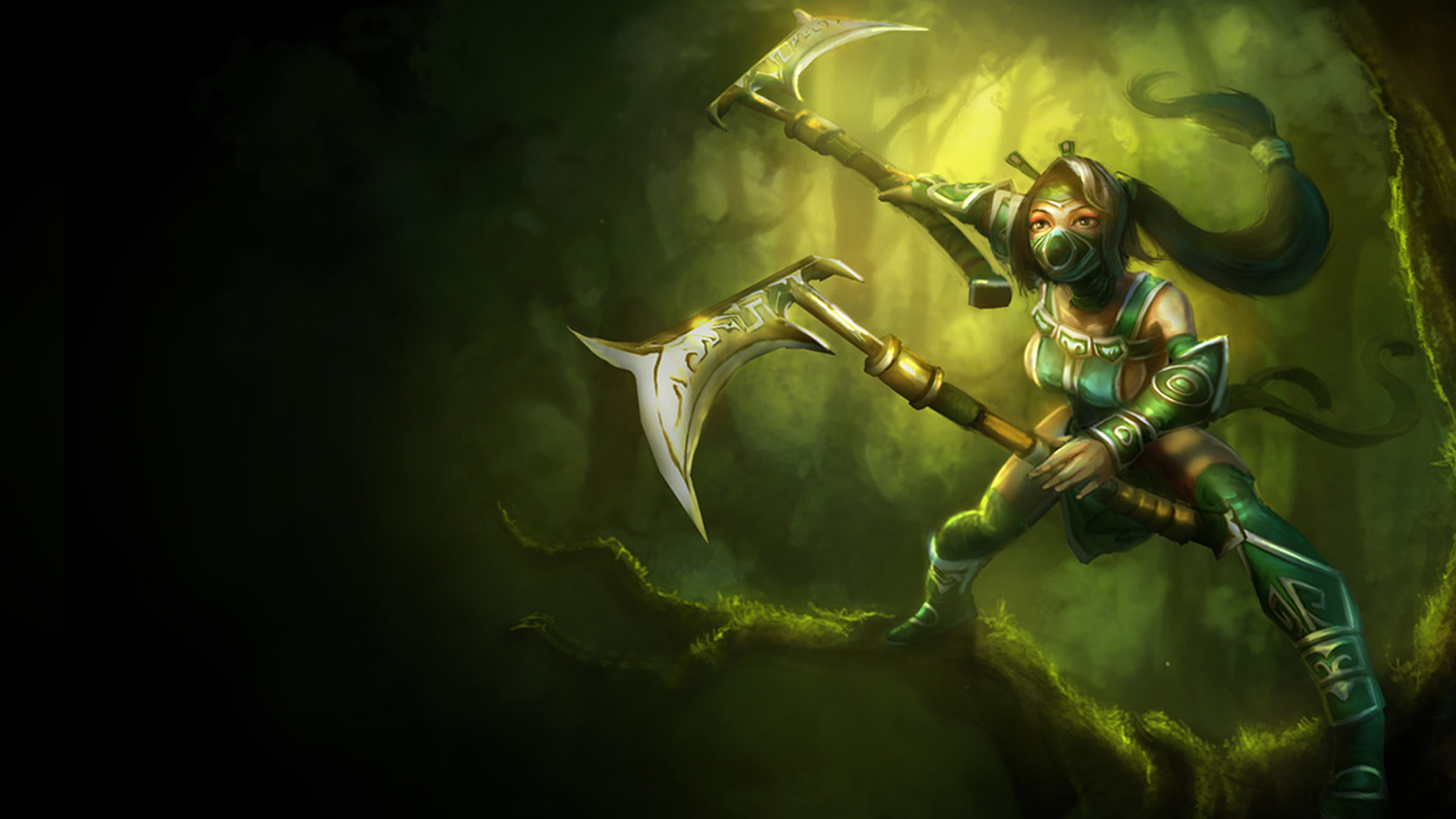 Akali Classic Original Wallpaper Leaguesplash