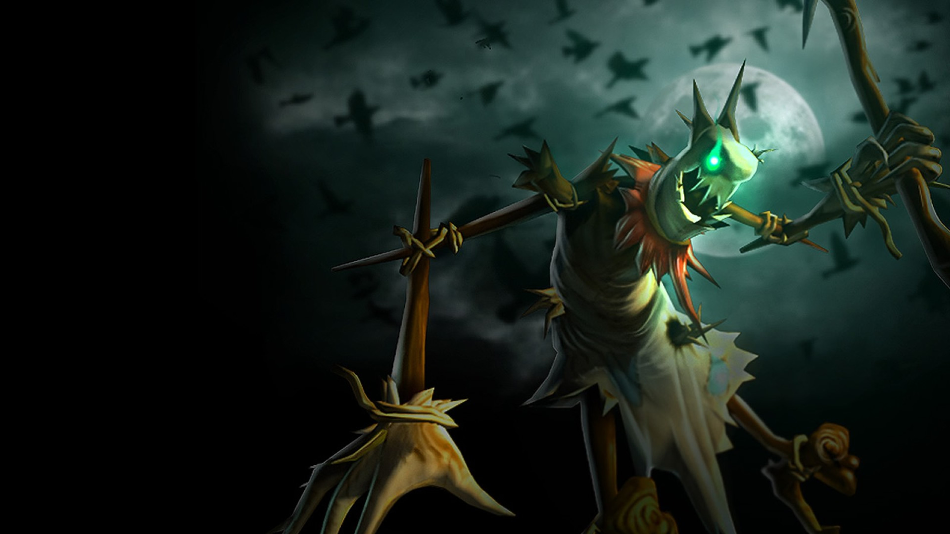 Fiddlesticks Classic Original Wallpaper Leaguesplash