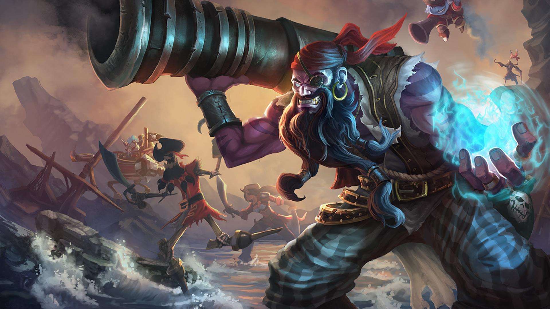 Pirate Ryze Wallpaper