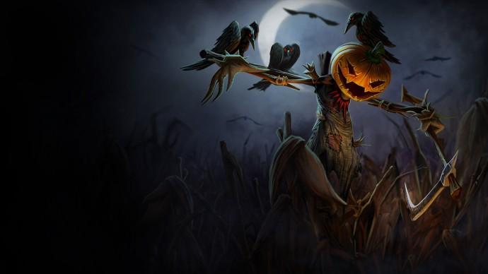 Pumpkin Head Fiddlesticks