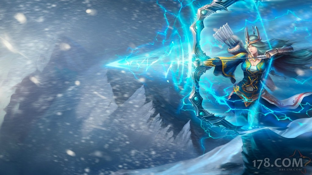 Queen Ashe Chinese Original Wallpaper Leaguesplash
