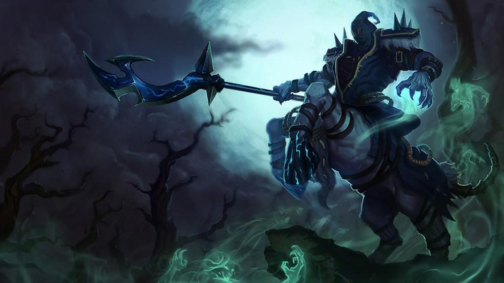 Reaper Hecarim Wallpap...