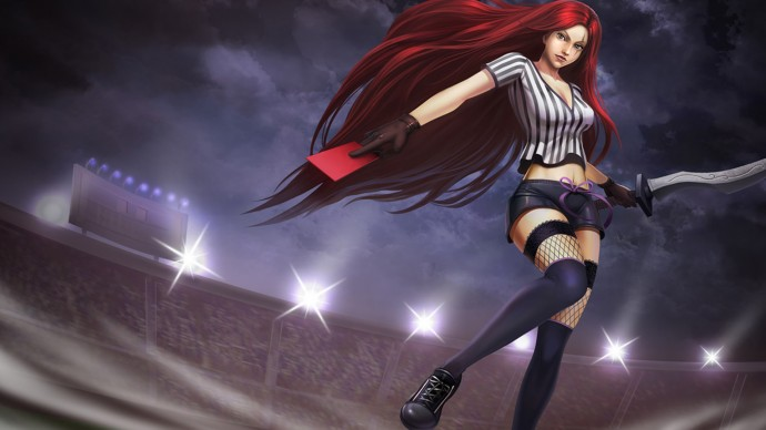 Red Card Katarina Chinese
