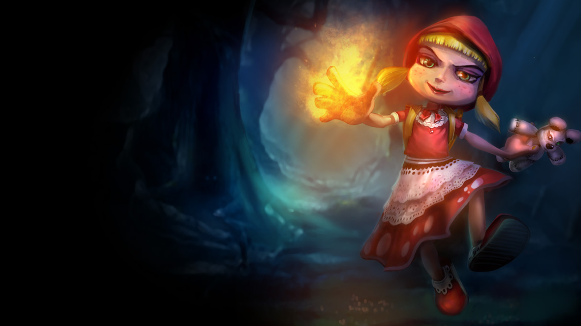 Red Riding Annie Wallpaper Leaguesplash