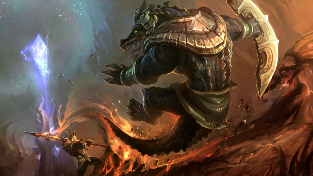 Renekton Vs Jarvan Wallpaper Leaguesplash