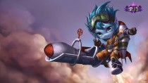 Rocketeer Tristana Chinese