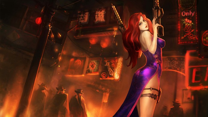 Secret Agent Miss Fortune Chinese