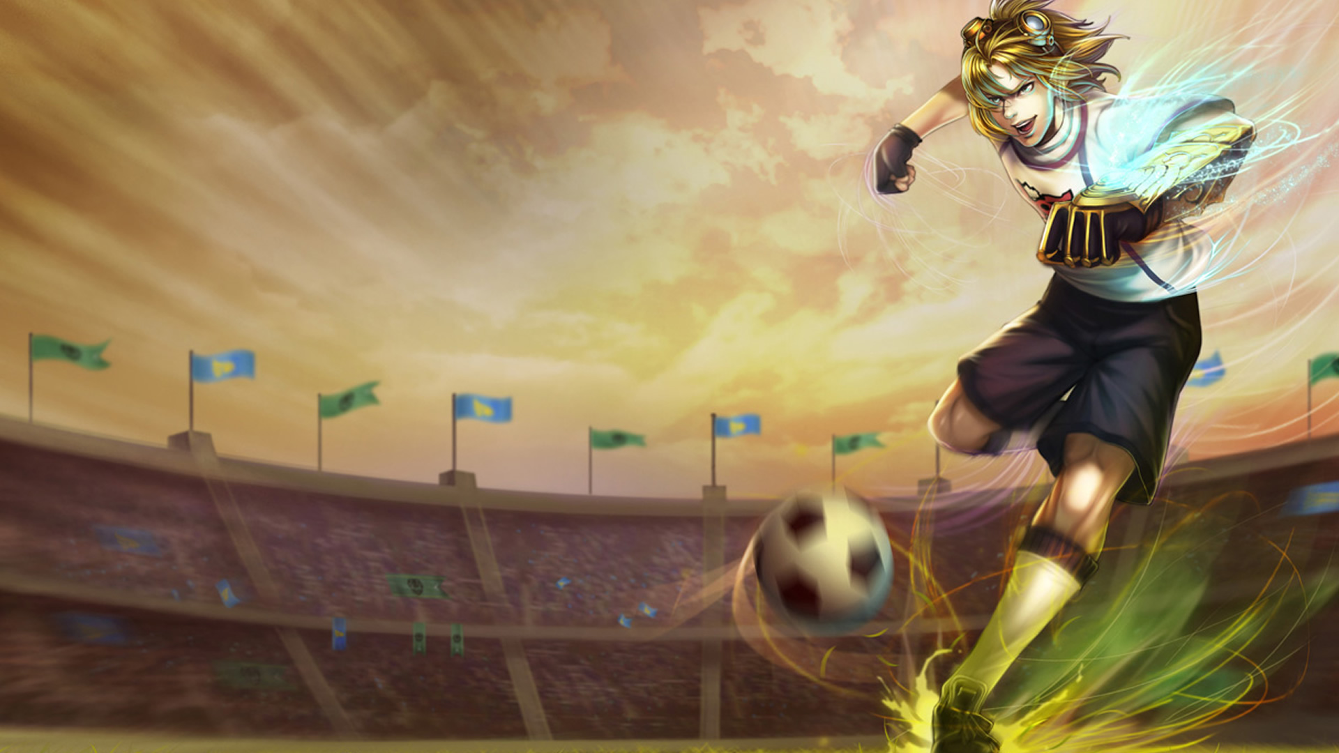 League of Legends: Блог им. AtomicKitten: Waka-Waka this time for....Brasil!