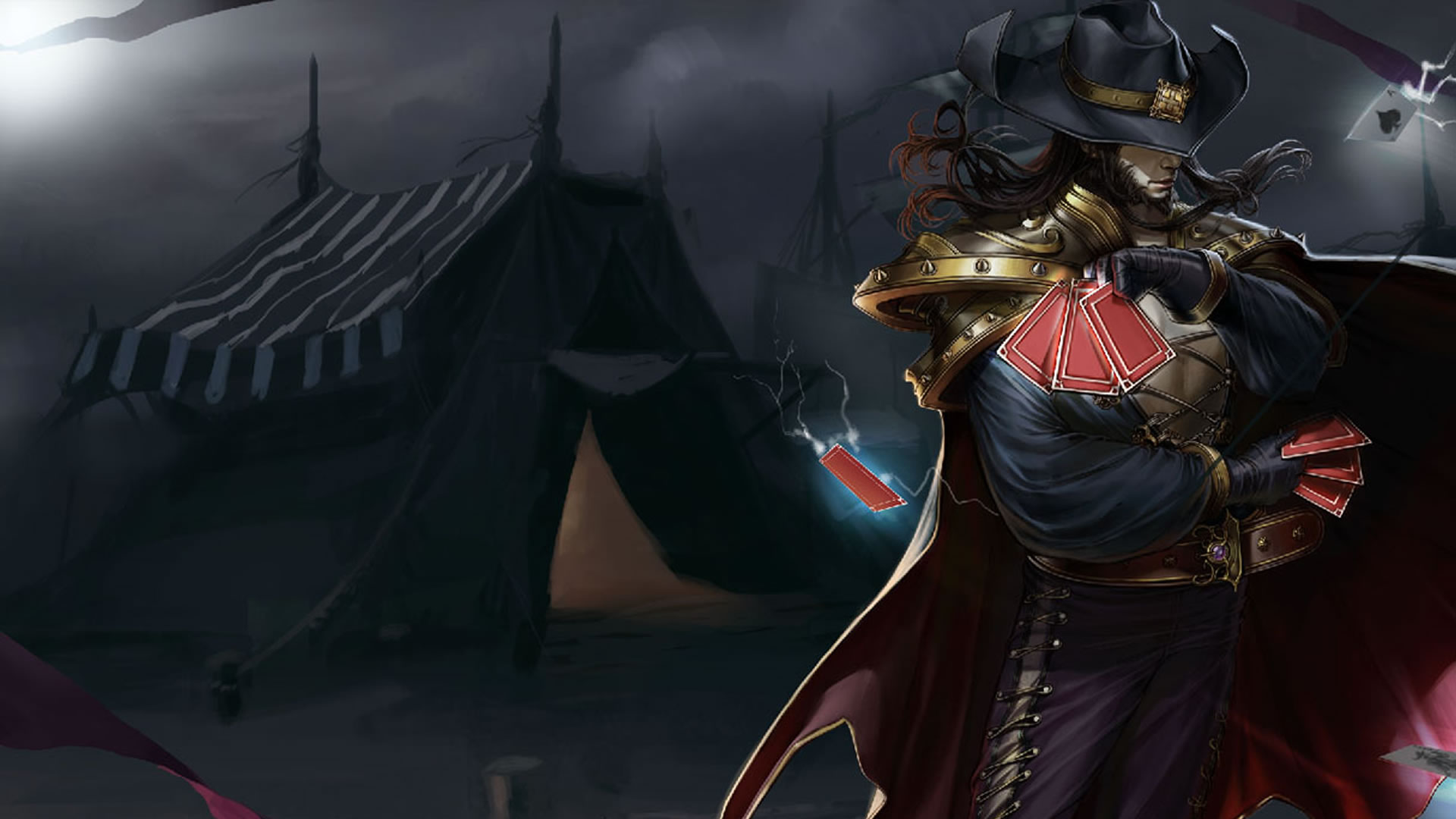 Twisted Fate Wallpapers - LeagueSplash