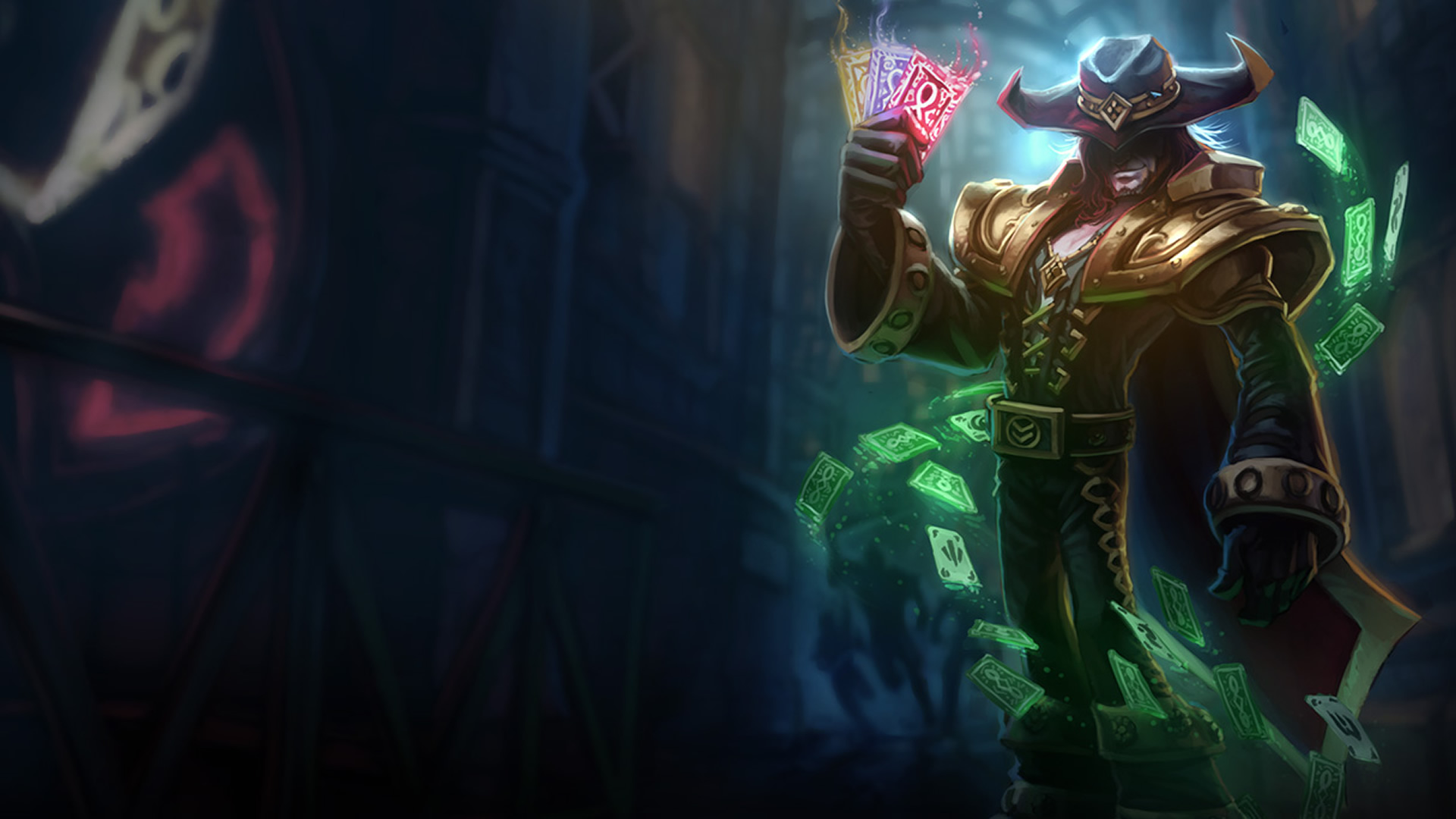 Twisted fate classic old wallpaper leaguesplash twisted fate classic old voltagebd Images