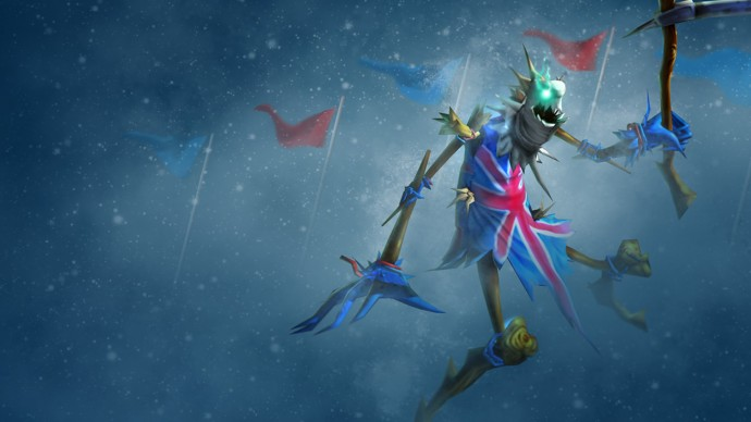 Union Jack Fiddlesticks