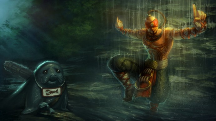 Lee Sin with Urf