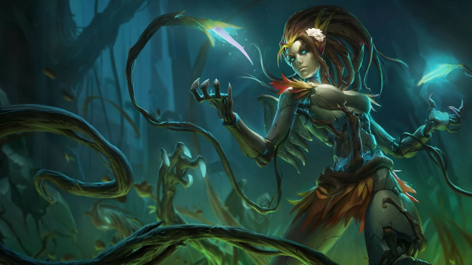 Haunted Zyra Wallpaper Leaguesplash